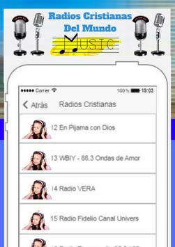 Radios Cristianas Del Mundo poster
