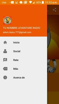 Tu Nombre Levantare Radio screenshot 4
