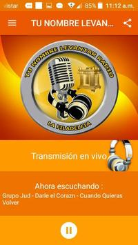 Tu Nombre Levantare Radio screenshot 2