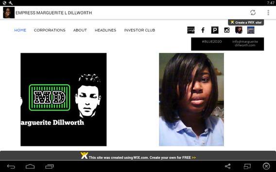 EMPRESS MARGUERITE L. DILLWORTH screenshot 5