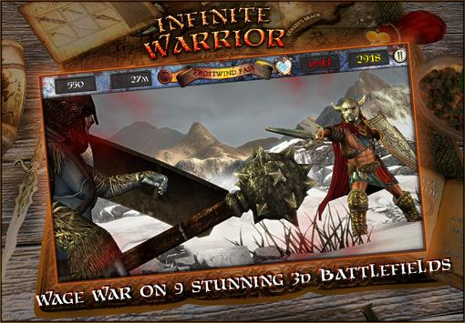 Infinite Warrior Remastered poster