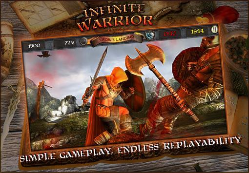 Infinite Warrior Remastered apk screenshot