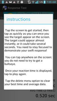 Reflex Test apk screenshot