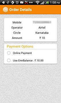 Mobile Recharge & Tariffs apk screenshot