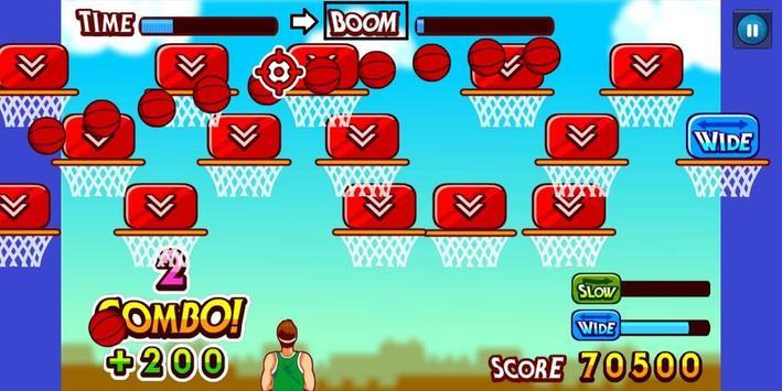 Basketball Game HD screenshot 1