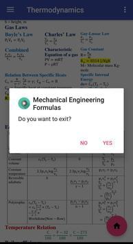 Mechanical Engineering Formulas screenshot 5