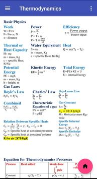 Mechanical Engineering Formulas screenshot 1