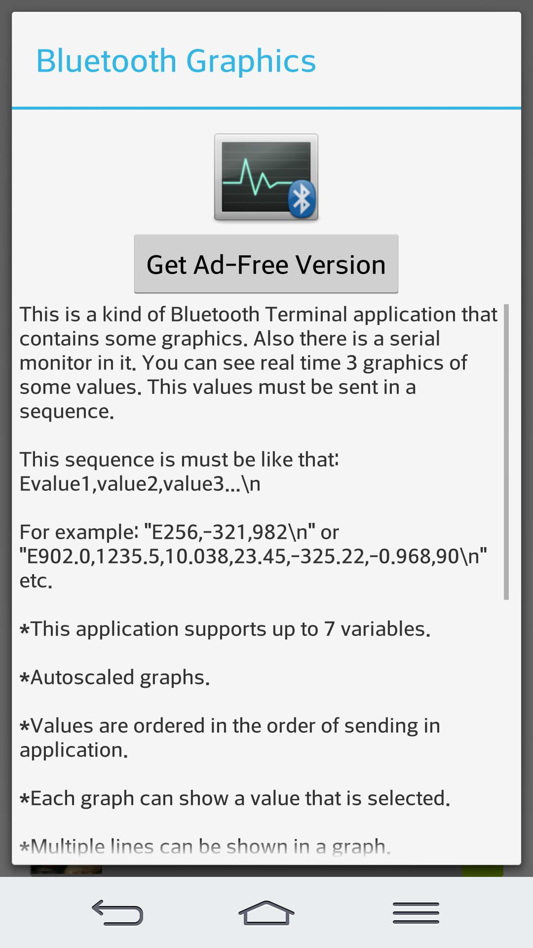 Bluetooth Terminal/Graphics for Android - APK Download