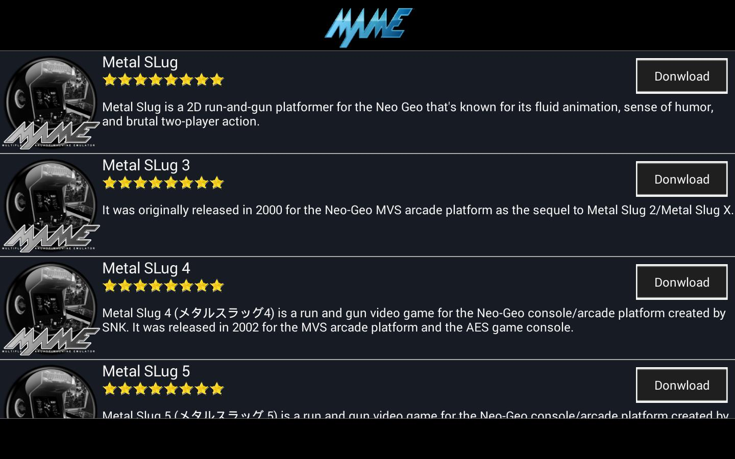 Arcade M A M E - MAME Collection Emulator for Android - APK Download