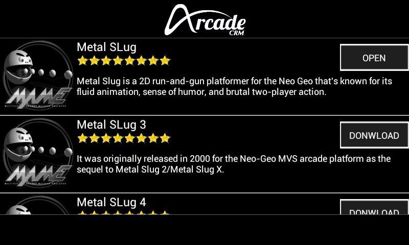😍 Multiple arcade machine emulator apk | MAME4droid (0 37b5