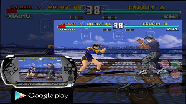 play psp hd Emulator apk screenshot