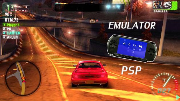 Emulator For PSP 2018 poster