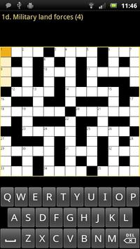 Crossword Puzzle King Lite apk screenshot