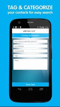 eMyPA - Business Card Scanner apk screenshot