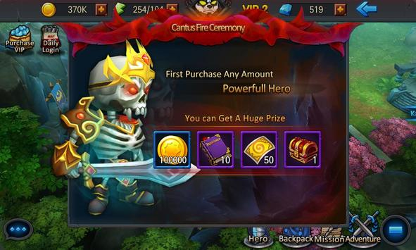 Arcane Heroes apk screenshot