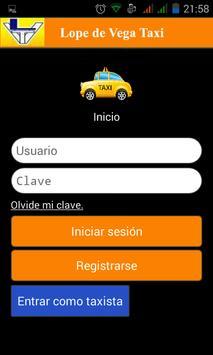 Lopez de Vega Taxi poster