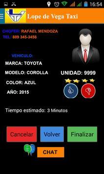 Lopez de Vega Taxi screenshot 4