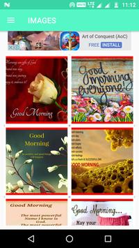 Good Morning Wishes SMS Quotes Wallpapers Images poster