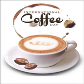 International Coffee Day Wishes Wallpaper Images icon