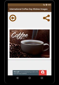 International Coffee Day Wishes Wallpaper Images screenshot 6