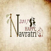 Navratri Greetings SMS Wishes Wallpaper Image 2017 icon