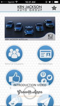 Ken Jackson Auto - Demo App poster