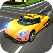 City Taxi Driving Simulator 17 - Sport Car Cab icon