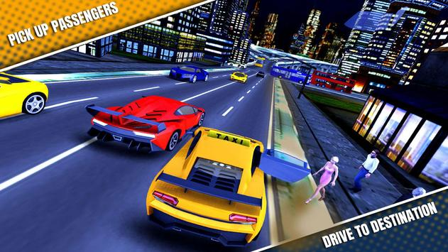City Taxi Driving Simulator 17 - Sport Car Cab screenshot 6