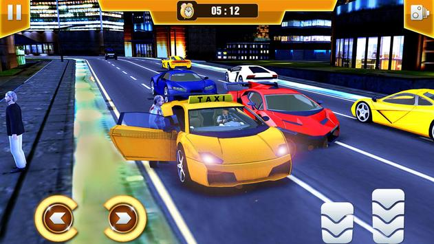 City Taxi Driving Simulator 17 - Sport Car Cab screenshot 7