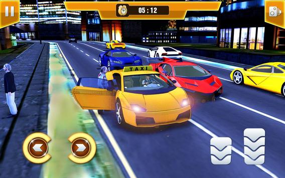 City Taxi Driving Simulator 17 - Sport Car Cab poster