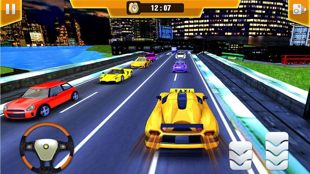 City Taxi Driving Simulator 17 - Sport Car Cab screenshot 13