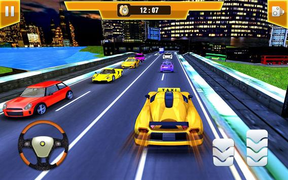 City Taxi Driving Simulator 17 - Sport Car Cab screenshot 2