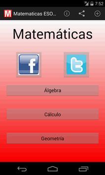 Matemáticas ESO Lite poster