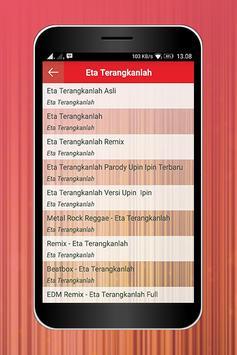 DJ Remix Eta Terangkanlah apk screenshot