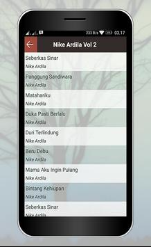 Koleksi Lagu Nike Ardila Lengkap apk screenshot