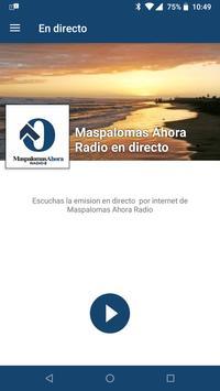 Maspalomas Ahora Radio poster