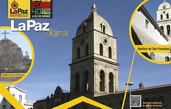 La Paz Digital AR poster