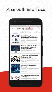 Enago Academy poster