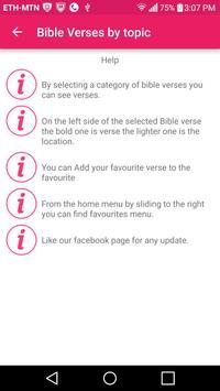 Christian: Bible verses by topic apk screenshot