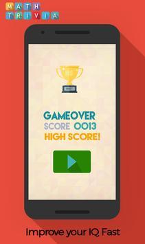 Math Trivia : Free Game apk screenshot