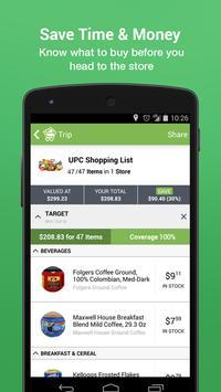 Shopping Scout Trip Comparison apk screenshot
