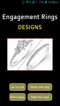 Engagement Rings Designs poster