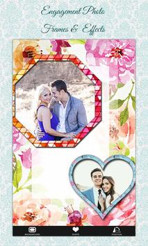 Engagement Photo Frames &  Effects poster