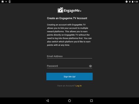 EngageMe.TV apk screenshot