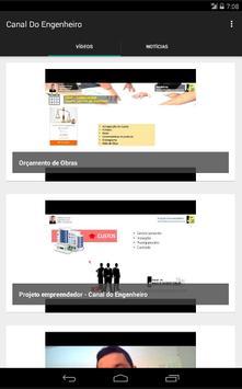 Canal do Engenheiro apk screenshot