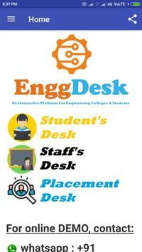 Engg Desk - EnggDesk - College ERP poster