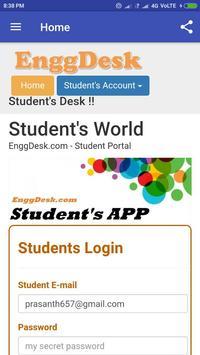 Engg Desk - EnggDesk - College ERP screenshot 1