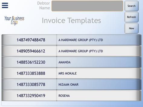 EBS Invoice screenshot 8