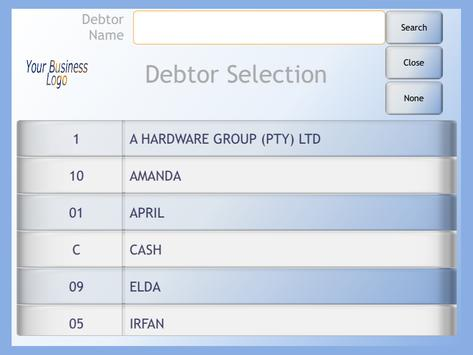 EBS Invoice screenshot 15
