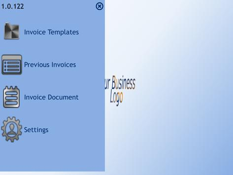 EBS Invoice screenshot 1